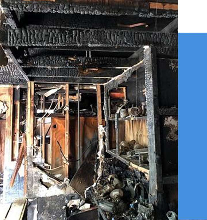 Fire Damage The Woodlands Texas